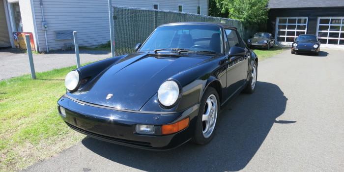 Porsche 1991 964 Cab Noir 001