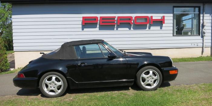 Porsche 1991 964 Cab Noir 005