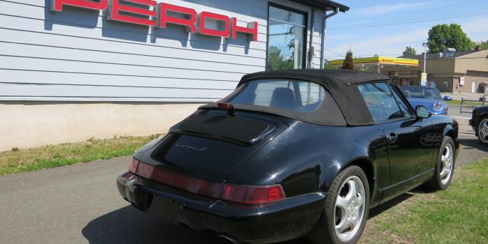 Porsche 1991 964 Cab Noir 006